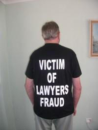 Victim of lawyers fraud